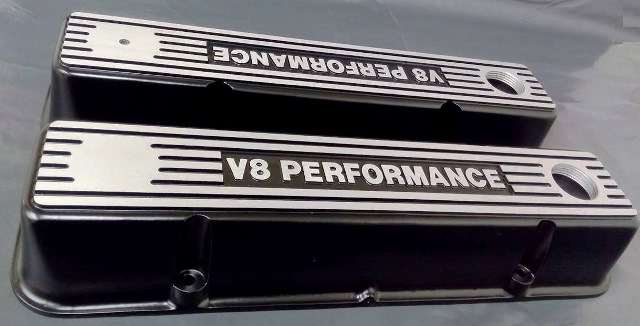 V8 Performance Parts > Valve Train > Custom V8 Rocker Covers
